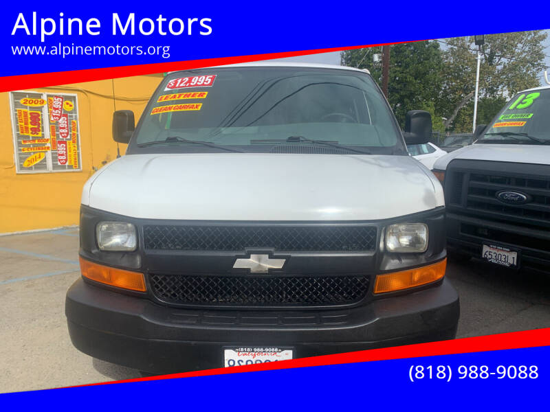 2009 Chevrolet Express Cargo for sale at Alpine Motors in Van Nuys CA