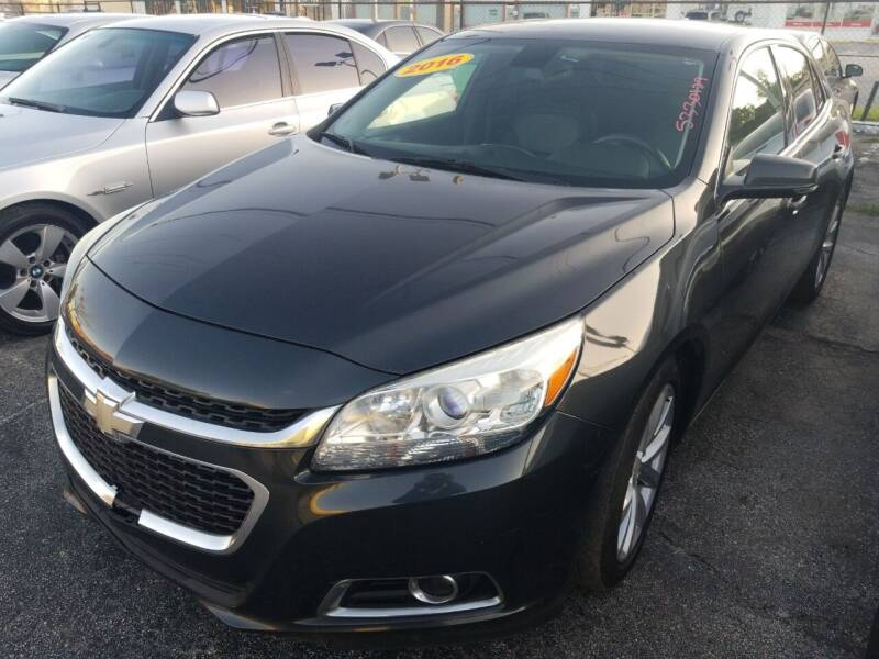2016 Chevrolet Malibu Limited for sale at Castle Used Cars in Jacksonville FL