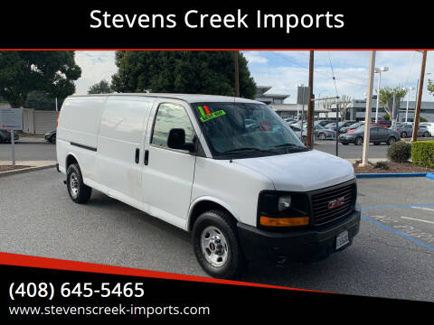 2011 GMC Savana Cargo for sale at Stevens Creek Imports in San Jose CA