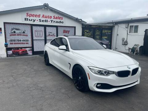 2014 BMW 4 Series for sale at Speed Auto Sales in El Cajon CA