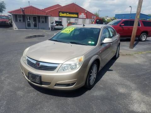 2007 Saturn Aura for sale at Credit Connection Auto Sales Inc. CARLISLE in Carlisle PA