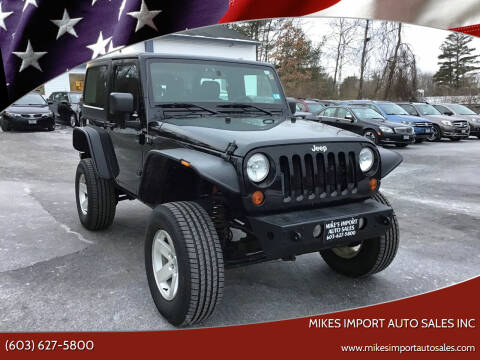 2013 Jeep Wrangler for sale at Mikes Import Auto Sales INC in Hooksett NH
