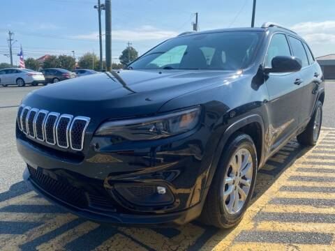 2019 Jeep Cherokee for sale at Auto America - Monroe in Monroe NC