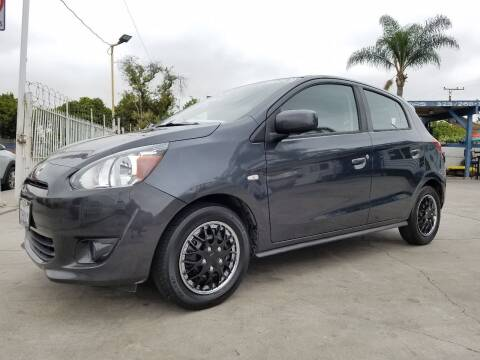 2015 Mitsubishi Mirage for sale at Olympic Motors in Los Angeles CA