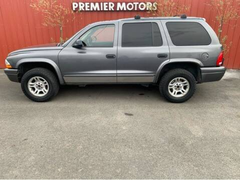 2003 Dodge Durango for sale at Premier Motors in Milton Freewater OR
