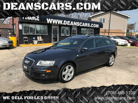 2008 Audi A6 for sale at DEANSCARS.COM in Bridgeview IL