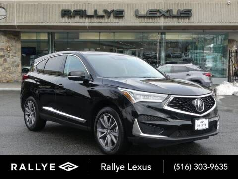 2019 Acura RDX for sale at RALLYE LEXUS in Glen Cove NY