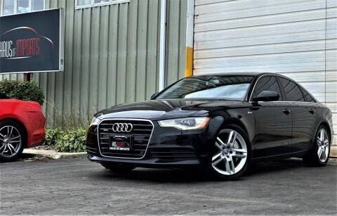 2014 Audi A6 for sale at Haus of Imports in Lemont IL