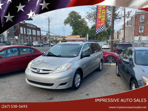 2010 Toyota Sienna for sale at Impressive Auto Sales in Philadelphia PA