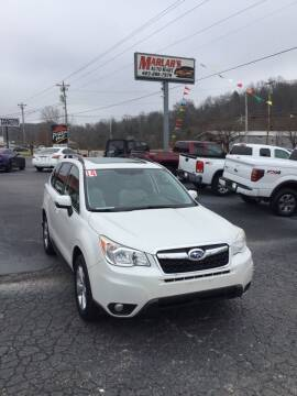 2014 Subaru Forester for sale at MARLAR AUTO MART SOUTH in Oneida TN