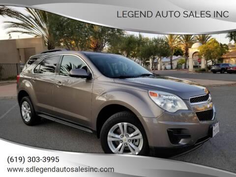 2010 Chevrolet Equinox for sale at Legend Auto Sales Inc in Lemon Grove CA