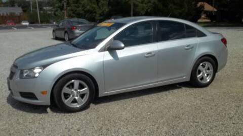 2013 Chevrolet Cruze for sale at MIKE'S CYCLE & AUTO - Mikes Cycle and Auto (Liberty) in Liberty IN