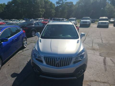 2013 Buick Encore for sale at All State Auto Sales, INC in Kentwood MI