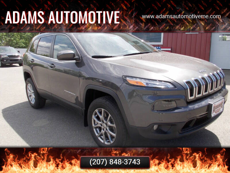 2018 Jeep Cherokee for sale at Adams Automotive in Hermon ME