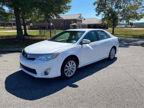 2013 Toyota Camry Hybrid for sale at Tennessee Valley Wholesale Autos LLC in Huntsville AL