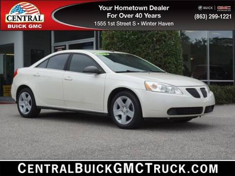 2008 Pontiac G6 for sale at Central Buick GMC in Winter Haven FL