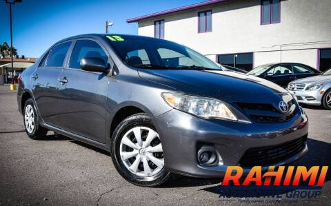 2013 Toyota Corolla for sale at Rahimi Automotive Group in Yuma AZ