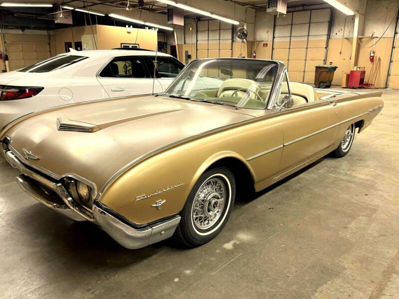 1962 Ford Thunderbird for sale at Black Tie Classics in Stratford NJ
