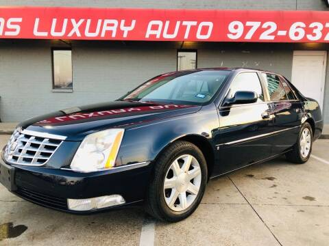 2006 Cadillac DTS for sale at Texas Luxury Auto in Cedar Hill TX