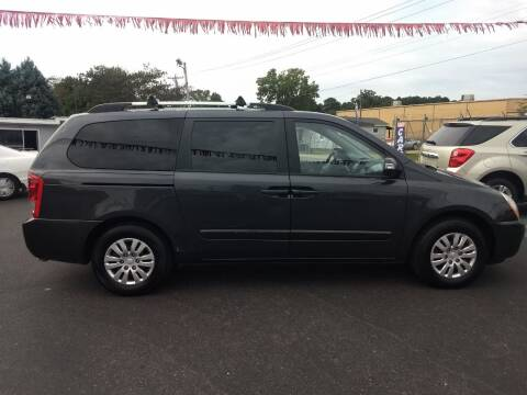 2014 Kia Sedona for sale at Kenny's Auto Sales Inc. in Lowell NC