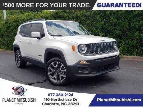 2018 Jeep Renegade for sale at Planet Automotive Group in Charlotte NC