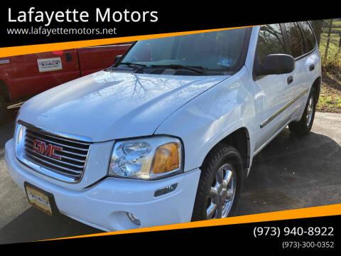 2008 GMC Envoy for sale at Lafayette Motors in Lafayette NJ