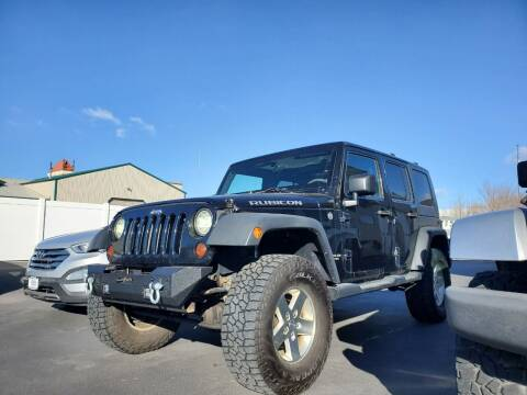 2008 Jeep Wrangler Unlimited for sale at Auto Image Auto Sales Chubbuck in Chubbuck ID