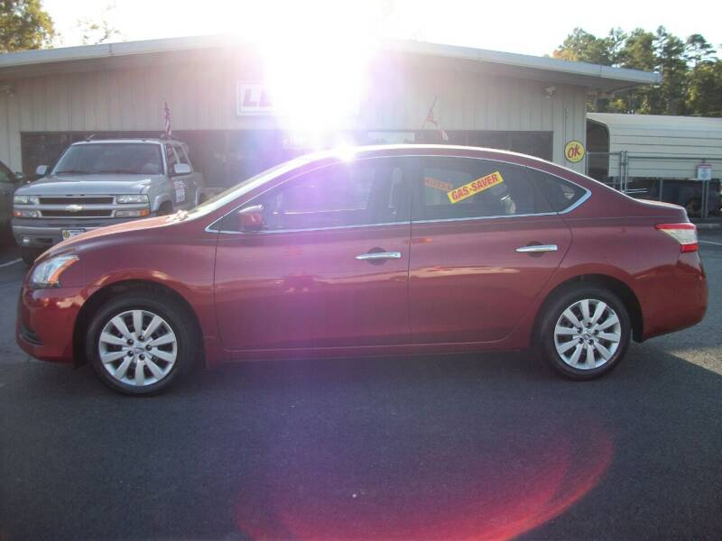 2015 Nissan Sentra for sale at Lentz's Auto Sales in Albemarle NC