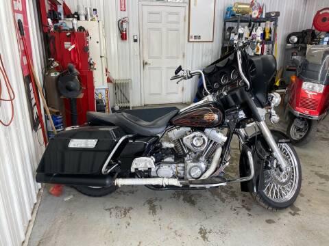 2002 Harley Davidson ElectraGlide FLHT for sale at CarSmart Auto Group in Orleans IN