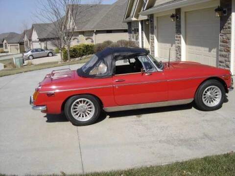 1972 MG MGB for sale at Classic Car Deals in Cadillac MI