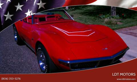 1970 Chevrolet Corvette for sale at LDT MOTORS in Amarillo TX