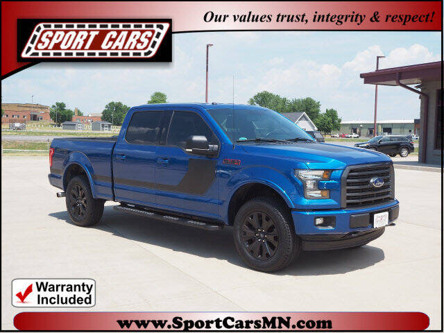 2017 Ford F-150 for sale at SPORT CARS in Norwood MN