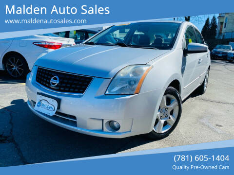 2009 Nissan Sentra for sale at Malden Auto Sales in Malden MA