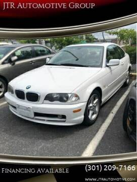 2000 BMW 3 Series for sale at JTR Automotive Group in Cottage City MD