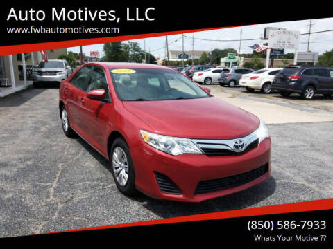 2012 Toyota Camry for sale at Auto Motives, LLC in Fort Walton Beach FL
