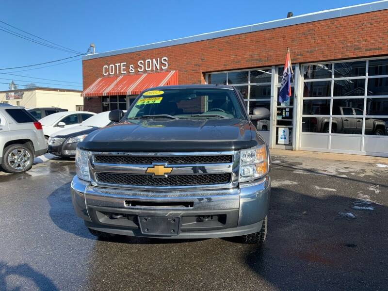 2012 Chevrolet Silverado 1500 for sale at Cote & Sons Automotive Ctr in Lawrence MA