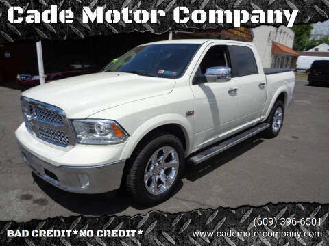 2016 RAM Ram Pickup 1500 for sale at Cade Motor Company in Lawrenceville NJ