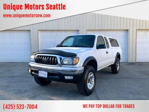 2001 Toyota Tacoma for sale at Unique Motors Seattle in Bellevue WA