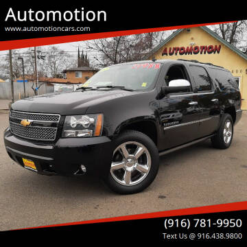 2012 Chevrolet Suburban for sale at Automotion in Roseville CA