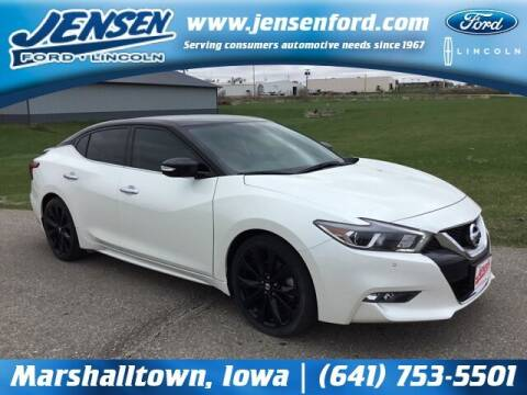 2017 Nissan Maxima for sale at JENSEN FORD LINCOLN MERCURY in Marshalltown IA