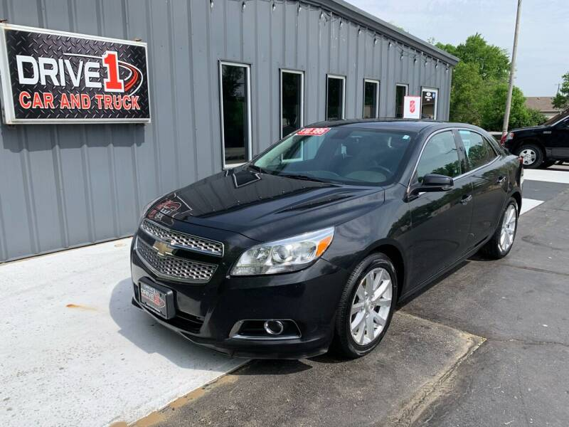 2013 Chevrolet Malibu for sale at Drive 1 Car & Truck in Springfield OH