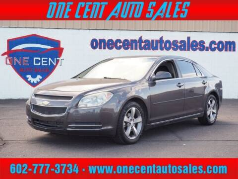 2011 Chevrolet Malibu for sale at One Cent Auto Sales in Glendale AZ
