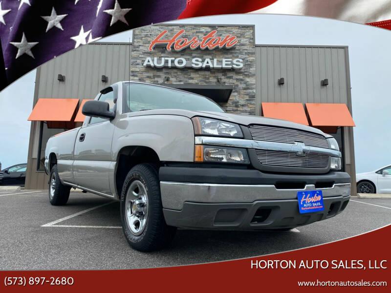 2004 Chevrolet Silverado 1500 for sale at HORTON AUTO SALES, LLC in Linn MO