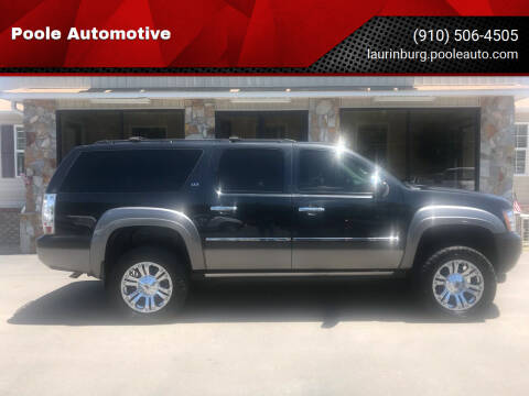 2013 Chevrolet Suburban for sale at Poole Automotive in Laurinburg NC