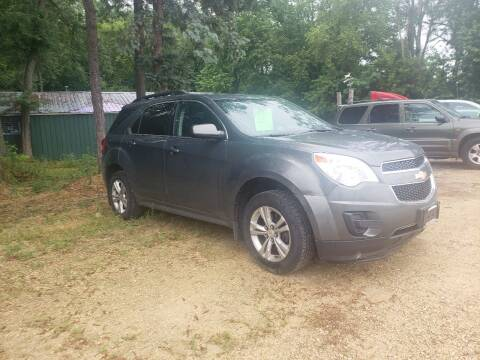 2012 Chevrolet Equinox for sale at Northwoods Auto & Truck Sales in Machesney Park IL