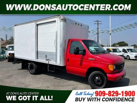 2006 Ford E-Series Chassis for sale at Dons Auto Center in Fontana CA