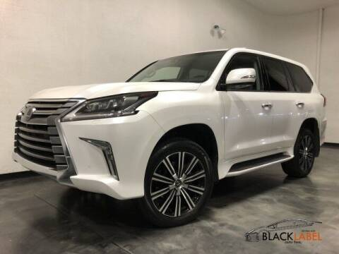 2018 Lexus LX 570 for sale at BLACK LABEL AUTO FIRM in Riverside CA