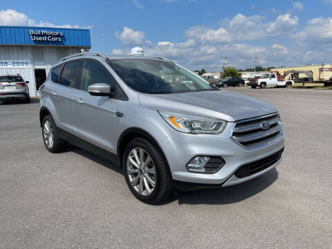 2017 Ford Escape for sale at BULL MOTOR COMPANY in Wynne AR