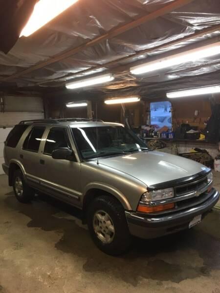 2001 Chevrolet Blazer for sale at Lavictoire Auto Sales in West Rutland VT