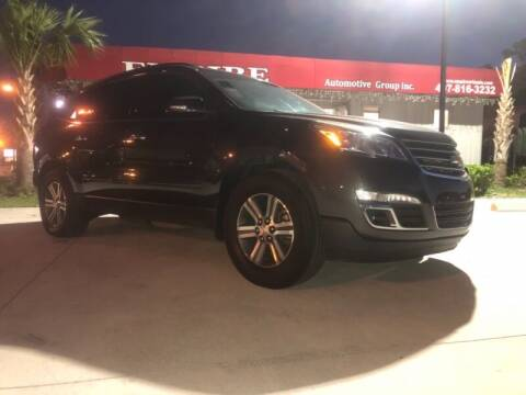 2017 Chevrolet Traverse for sale at Empire Automotive Group Inc. in Orlando FL